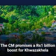 The CM promises a Rs1 billion boost for Khwazakhela