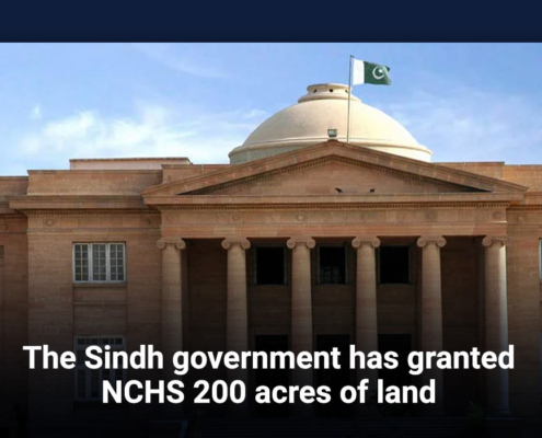 The Sindh government has granted NCHS 200 acres of land