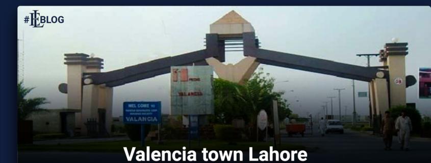 Valencia town Lahore